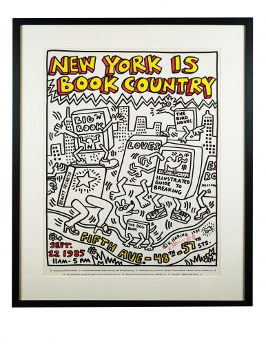 New York is Book Country by Keith Haring at Hidden