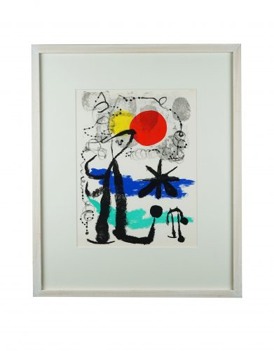 Untitled 3 – Lithographic Set by Joan Miro at Hidden