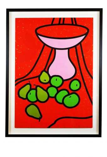 Fruit and Bowl by Patrick Caulfield at