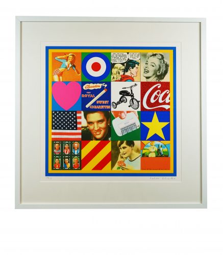 Sources of Pop Art III by Peter Blake at