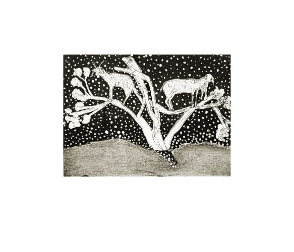 Goats In Trees by Kiki Smith at