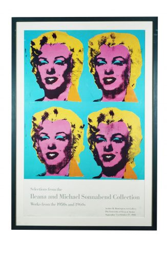 Ileana and Michael Sonnabend Collection University Texas Austin by Andy Warhol at Hidden