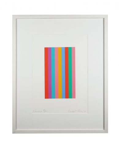Sideways by Bridget Riley at