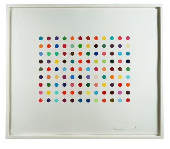 Doxylamine by Damien Hirst at
