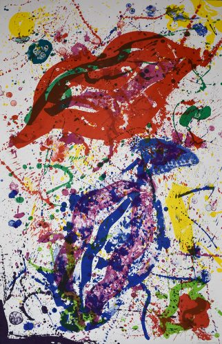 Untitled (SF-329) by Sam Francis at