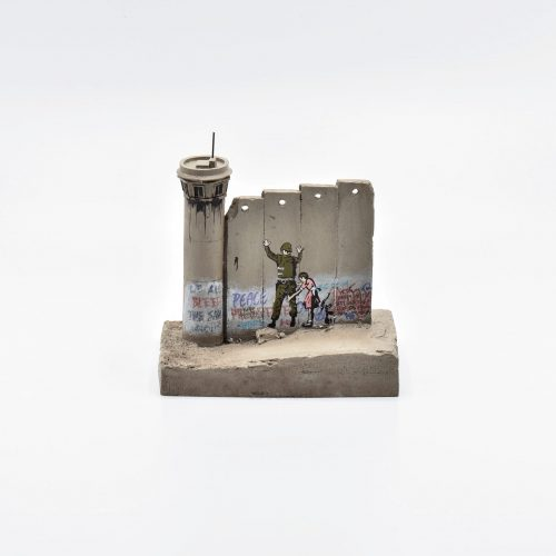 Walled Off Hotel – Wall Sculpture (Stop and Search) by Banksy at