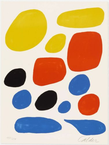 Untitled (from the Flight Portfolio) by Alexander Calder at