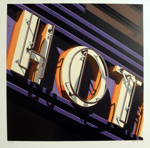 Hot by Robert Cottingham at