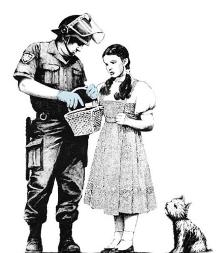 Stop and Search by Banksy at