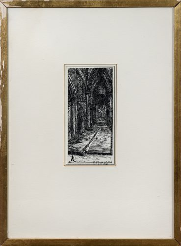 St. Patrick's Cathedral by Janet Lippincott at Matthews Gallery