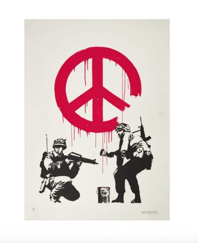 Cnd Soldiers by Banksy at