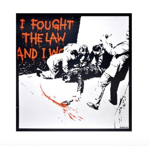 I Fought the Law by Banksy at
