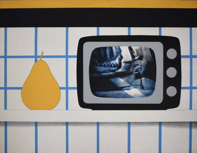 TV Still Life, from: 11 Pop Artists by Tom Wesselmann at