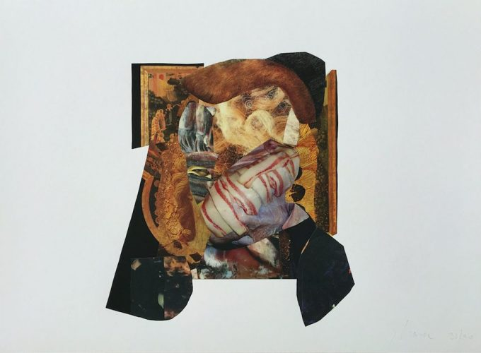 Charles Baudelaire by Adrian Ghenie at