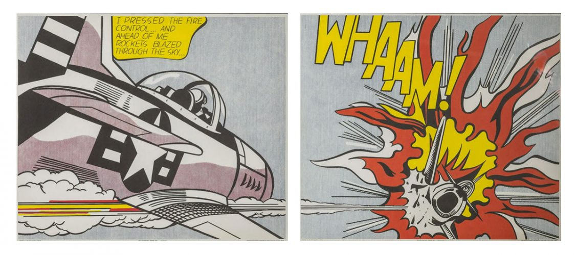 Whaam by Roy Lichtenstein at