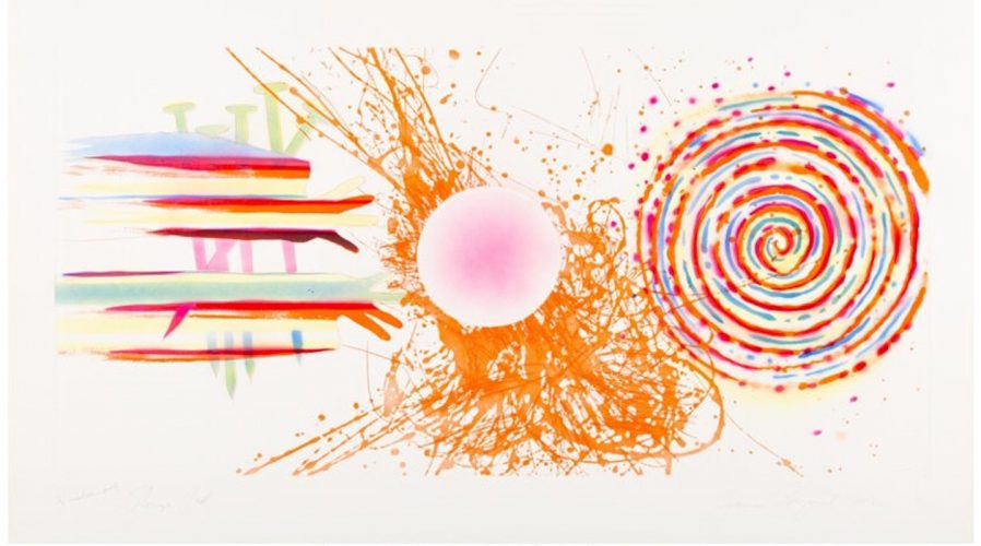 Rouge Pad by James Rosenquist at
