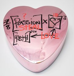 Passion Steal Love Candy Heart by Brendan Murphy at