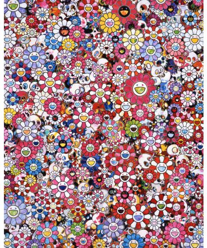 Circus: Embrace Peace and Darkness within Thy Heart by Takashi Murakami at