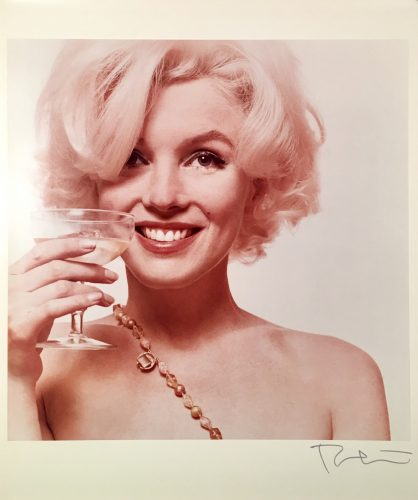 Here's to You from The Last Sitting by Bert Stern at