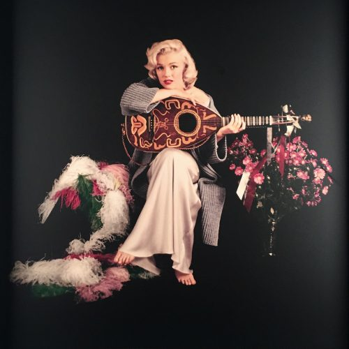 Marilyn with Lute by Milton Greene at Andrew Weiss Gallery