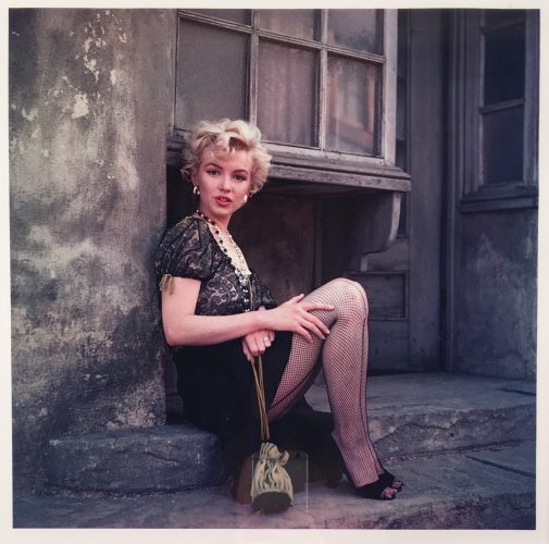 Bus Stop I by Milton Greene at
