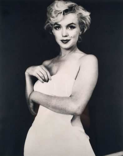 Portrait of Marilyn by Milton Greene at Andrew Weiss Gallery