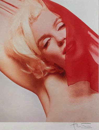 The Red Scarf by Bert Stern at