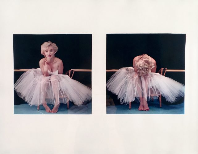 Ballet Diptych by Milton Greene at Andrew Weiss Gallery