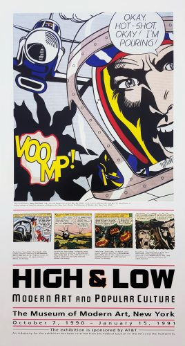 High & Low. Modern Art and Popular Culture (MoMA) by Roy Lichtenstein at