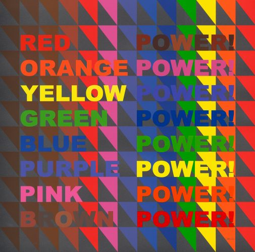 Power! Power! Power! by Jeffrey Gibson at