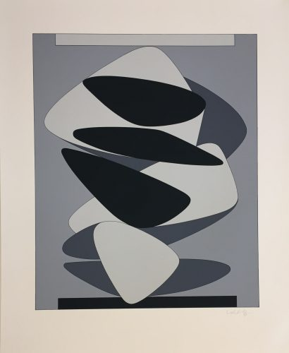 Kervilahuen-BL by Victor Vasarely at