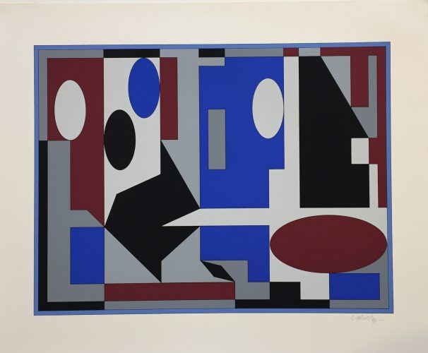 Bhopal iii by Victor Vasarely at