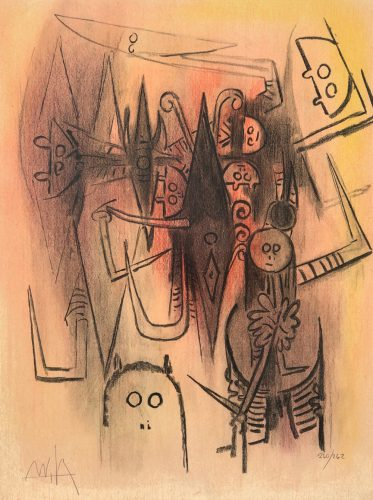 Untitled by Wifredo Lam at