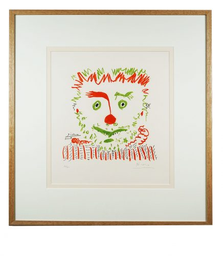 Le Clown by Pablo Picasso at