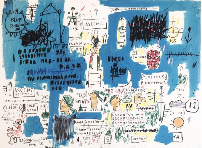 Ascent by Jean-Michel Basquiat at