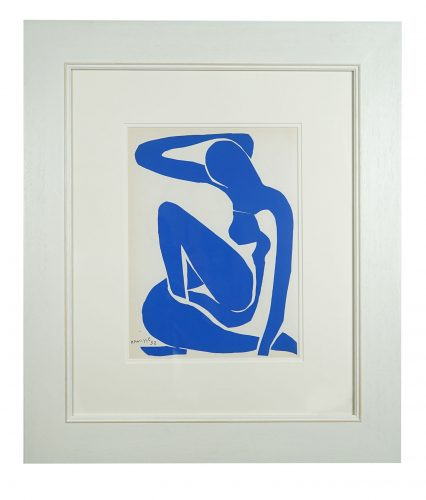 Nu Bleu I by Henri Matisse at