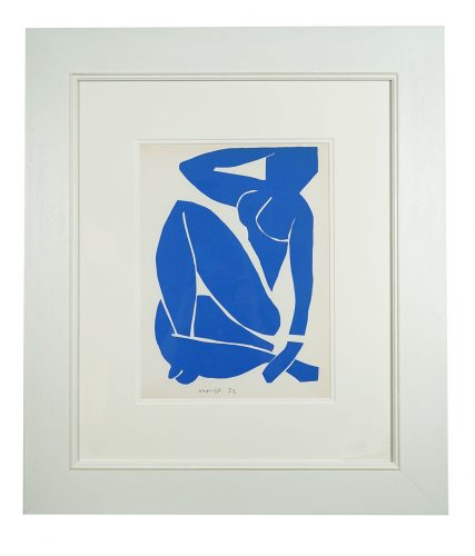 Nu Bleu III by Henri Matisse at
