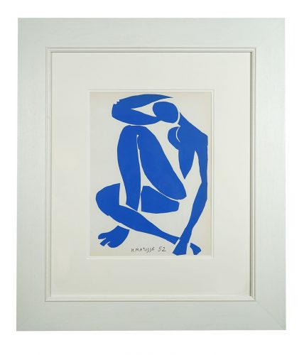 Nu Bleu IV by Henri Matisse at