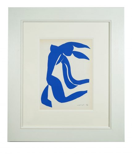 Nu Bleu VII by Henri Matisse at