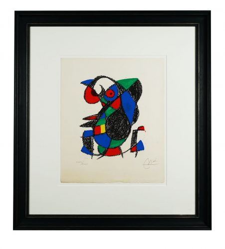One Plate, from 'Miro Lithographe II' by Joan Miro at Hidden