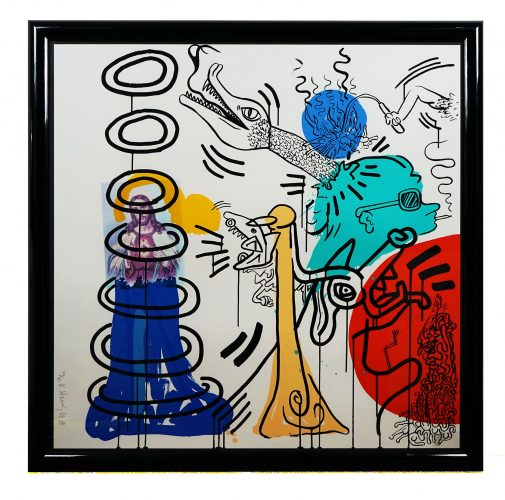 Apocalypse 5 by Keith Haring at Hidden