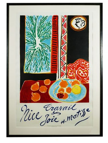 Nice Travail et  Joie by Henri Matisse at