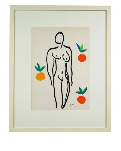 Nu Aux Oranges by Henri Matisse at