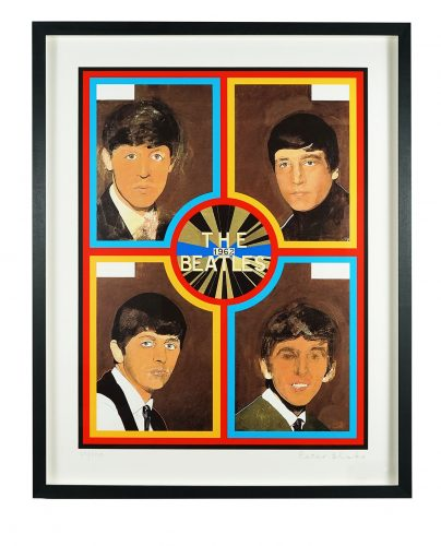 The Beatles, 1962 by Peter Blake at