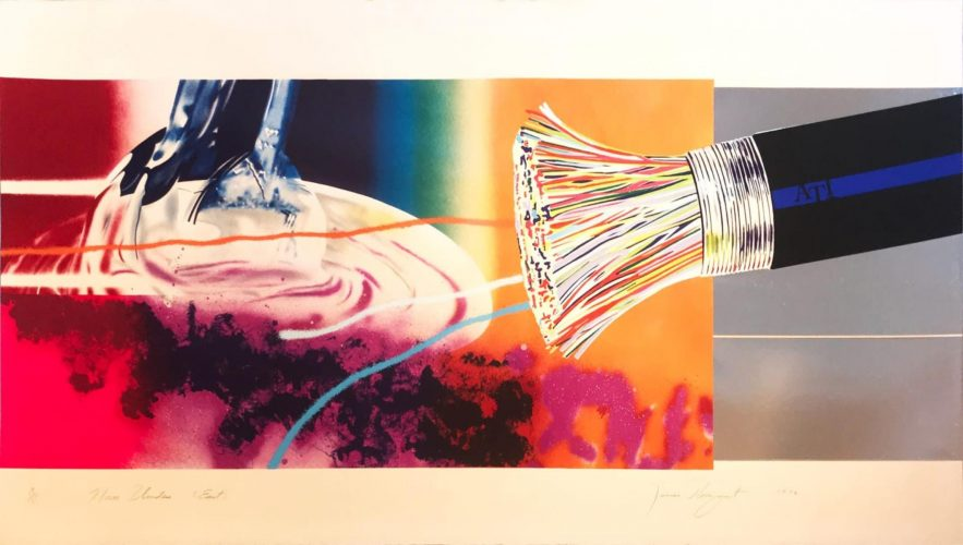 Horse Blinders (East) by James Rosenquist at