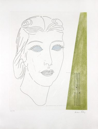 Genia by Man Ray at