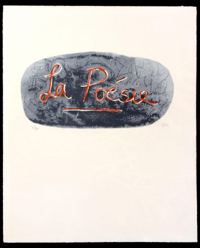 La Poesie by Henry Moore at