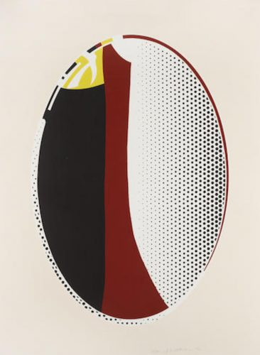 Mirror #6 by Roy Lichtenstein at