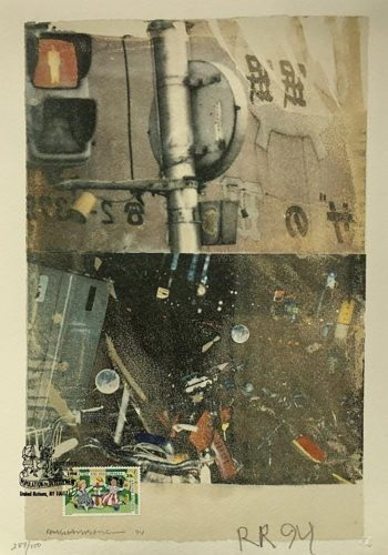Bulkhead by Robert Rauschenberg at
