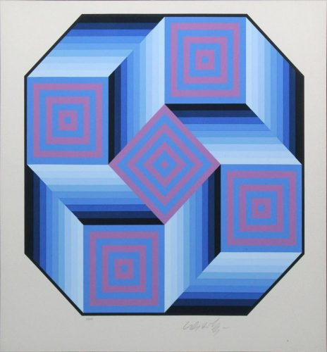 Untitled by Victor Vasarely at